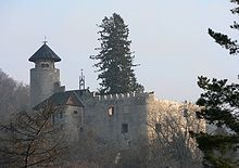 """Birseck Castle (German: Burg Birseck) is located in the municipality of Arlesheim in the canton of Basel-Country. Birseck Castle is also called """"Untere Burg Birseck"""" or """"Vordere Burg Birseck"""" and is one of four castles on a slope called Birseck that confines the plain of the Birs river."""