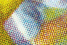 The Human Printer: Painstakingly Recreating CMYK Halftone Printing, by Hand | Jeannie Huang