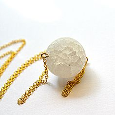 Moon Orb Necklace  by leBaton