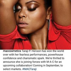 Go Cookie Go! #TarajiPHenson bags herself a #MACCosmetics collaboration.  Will you be buying it?