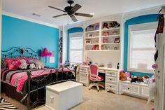 The girls bedroom - Indian Lakes: Residence 1 by Ellis Custom Homes, LLC