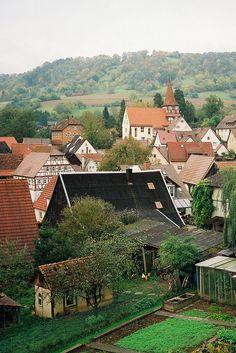 Künzelsau-Kocherstetten (Hohenlohekreis) BW DE