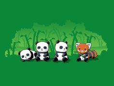 Just Panda Business | TeeTurtle
