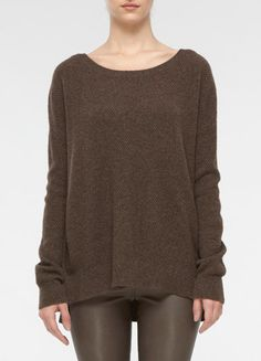 Side-Button Sweater (If I keeping pinning sweaters, I know fall will get here even quicker, right??)