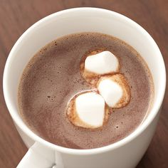Extra Special Hot Chocolate by The Pampered Chef // Can be modified to be dairy free by subbing 1.5 cups coconut milk + 1.5 cups water; using Enjoy Life Chocolate Chips :)