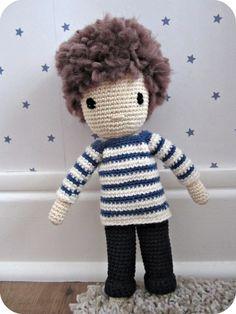 cute ! #Amigurumi #crochet #doll