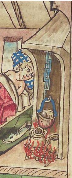 Antonius <von Pforr> Buch der Beispiele — Schwaben, um 1480/1490 Cod. Pal. germ. 85 Folio 96v