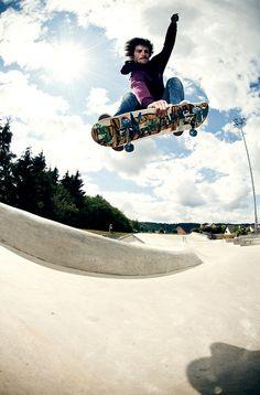 Rider: Cedric Romanens | Trick: Indy Tweak | Location: Luxembourg | Photo: Dominic Zimmermann |