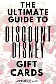 discount gif This ultimate guide to discount Disney gift cards will save you a ton of money! Learn how to get Disney gift cards for cheap (or even free) with these tips! If you are headed to Disney, this is a must read! Disney Money, Disney On A Budget, Disney World Planning, Disney World Vacation, Disney Vacations, Disney World Tips And Tricks, Disney Tips, Walt Disney, Discount Disney Gift Cards