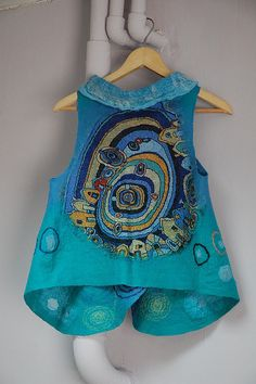 Felted Vest by Clara