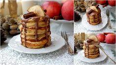 Update1 Ünnepi Almás Pancake Fahéjas Öntettel Waffles, Food And Drink, Breakfast, Morning Coffee, Waffle