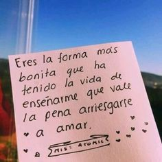 Amor Quotes, Cute Quotes, Love Phrases, Love Words, Sad Love, Love You, Love Text, Spanish Quotes, Love Messages