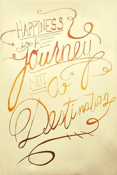 Happiness is a Journey, not a Destination #positivequotes #positivity #lifequotes #journeyquotes #destinationquotes #happinessquotes via @tlcforcoaches Journey Quotes, Life Quotes, Positive Words, Positive Quotes, Life Changing Quotes, Attitude Of Gratitude, Staying Positive, Happy Quotes, Wise Words