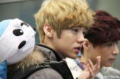EXO-M Heading Back China (airport) | Luhan