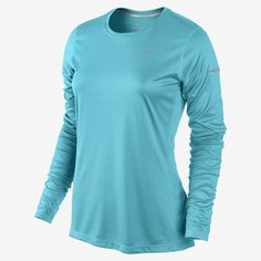 Nike Women's Miler Long Sleeve Running Shirt - Dick's Sporting Goods - I  need this in like all 5 colors:)