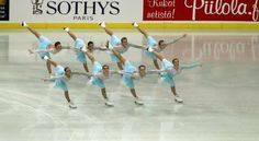 Wow, +3!    Team Paradise Short Program 2012