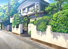 City, Scenery, Background, Anime Background, Anime Scenery, Visual Novel…