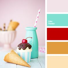 In Color Balance Design Seeds, Red Colour Palette, Red Color, House Color Palettes, Paint Color Schemes, Orange Color Schemes, Bedroom Paint Colors, Color Balance, Colour Board