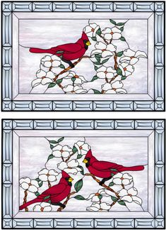 US-StainedGlass.com - Stained Glass Window Preview Of Design 253