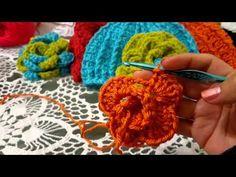 Flores,Gorros,Diademas,Chal y todo en crochet