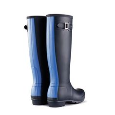 Hunter Original Stripe Rain Boots - BK's Brand Name Clothing Hunter Wellies, Hunter Boots, Cute Rain Boots, Rubber Rain Boots, Crazy Shoes, Me Too Shoes, Hunter Wellington Boots, Striped Boots, Kids Boots