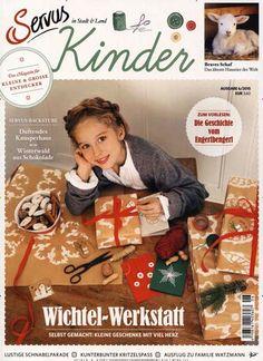 Wichtel-Werkstatt Selbst gemacht: Kleine Geschenke mit viel Herz. Gefunden in: Servus Kinder - Deutschland Ausgabe, Nr. 6/2015