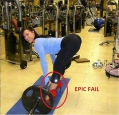 """LOL OMG Gym Fails #1 Dangerous Shoes, Gals, if you wear 4"""" high heels just know you'll look silly and awkward. Secondly, do you really think …"""