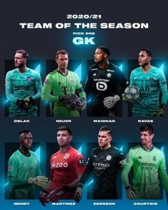❗️THE FOOTBALL LOVERS TEAM OF THE SEASON 2020/21 ❗️ Position: GK - Who gets your vote❓ Football Photos, Football Team, Pick One, Lovers, Positivity, Seasons, Football Squads, Seasons Of The Year, Optimism