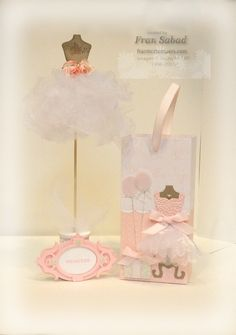 Love Fran's adorable Princess Party Set using the Stampin' Up Dress up Framelits. stampersblog: Pretty Packaging
