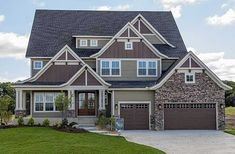 I would square off the main floor, adding a sitting room, and move the garage to the side of the  house. KL