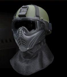ACH/MICH STYLE HELMET MASK VERSION Tactical Wear, Tactical Clothing, Airsoft Helmet, Airsoft Guns, Outdoor Survival Gear, Helmet Covers, Tac Gear, Adventure Gear, Military Gear