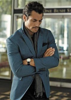 Twitter / DGandyOfficial: One more from @MarksandSpencer's M&S Collection for A/W 2014 | @King_LarryKing