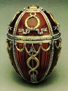 Faberge Rosebud Egg Easter Egg Crafts, Easter Eggs, Fabrege Eggs, Historical Artifacts, Egg Art, Egg Shape, Egg Decorating, Art Object, Oeuvre D'art