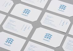 Unique Business Card, Transit #BusinessCards #Design (http://www.pinterest.com/aldenchong/)
