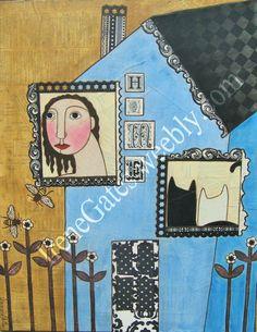 irene gates folk art - Google Search