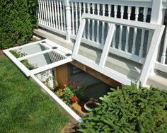 Window Wells  Egress Basement Covers  Vinyl Window Wells