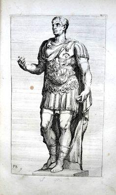 gravure empereur romain