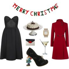 Designer Clothes, Shoes & Bags for Women Xmas, Shoe Bag, Happy, Polyvore, Stuff To Buy, Shopping, Collection, Dresses, Design