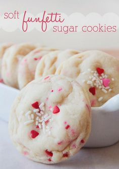 Soft Funfetti Sugar Cookies