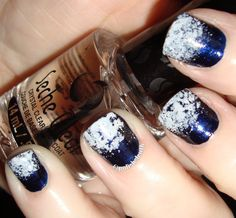 Nail Polish Sleuth: #xmasnorules - SNOW !!