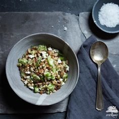 This recipe for Sprouted Bean & Lentil Salad from truRoots® is the perfect side dish for your family dinner.