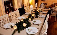 Ideer til borddekking - jul
