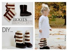 Me Sew Crazy: Sherpa Boots Cover Up {Tutorial}...