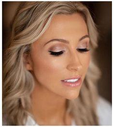 Bridal Makeup Natural Brunette, Wedding Makeup Blonde, Dramatic Bridal Makeup, Bridal Makeup For Green Eyes, Bridal Makeup For Blondes, Wedding Eye Makeup, Blonde Hair Makeup, Natural Wedding Makeup, Bridal Hair And Makeup