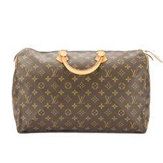 Louis Vuitton Monogram Speedy 40 Bag (Pre Owned)