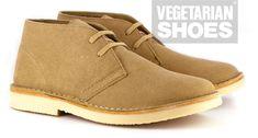 Bush Boot (Sand)  vegan desert boots , vegan boots