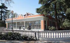 Centro de exposiciones Casa de Vacas. Parque de El Retiro.