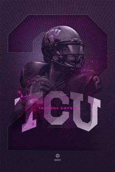 Chad Beene | Graphic Design | Fort Worth, TX | TCU TREVONE BOYKIN