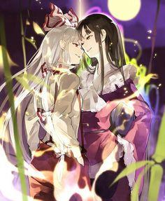 Mokou & Kaguya | Touhou