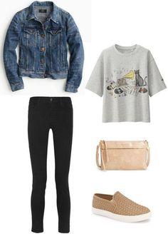 Achei muito lindo! Sim ou Não ?   Quer completar seu look? Veja essa seleção de Calças Jeans  http://ift.tt/2aNNTVt